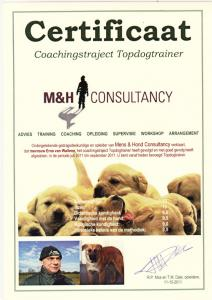 Topdog Coachingstraject 2011