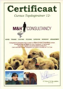 Topdog Cursus 12- , 2012